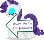Mlp Fim Rarity (signs) vector