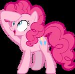 Mlp Fim Pinkie Pie (derp) vector
