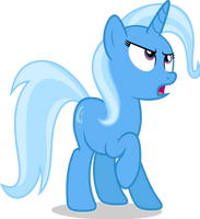 Mlp Fim Trixie (dislike) Vector by luckreza8