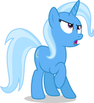 Mlp Fim Trixie (dislike) Vector