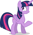 Mlp Fim twilight sparkle (i'm not sure) vector