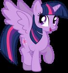 Mlp Fim Twilight Sparkle (happy) vector #3