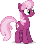 Mlp Fim Cheerilee (happy) vector