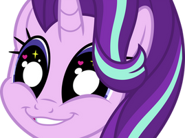 Mlp Fim Starlight Glimmer (cute) vector by luckreza8