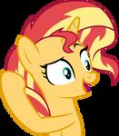 Mlp Fim Sunset Shimmer (yeah) vector