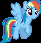 Mlp Fim Rainbow Dash (...) vector #2