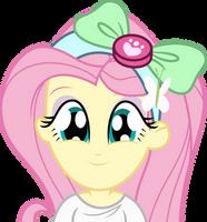 Equestria girls - Sad Fluttershy *Sigh* [Vector] by ...
