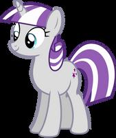 Mlp Fim Twilight Velvet (happy) vector by luckreza8