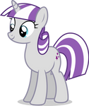 Mlp Fim Twilight Velvet (happy) vector