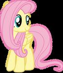 Mlp Fim Fluttershy (happy) vector #4