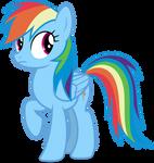 Mlp Fim Rainbow Dash (...) vector #4