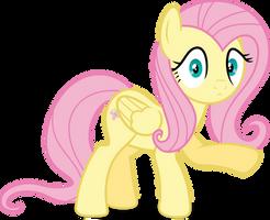 Mlp Fim Fluttershy (...) vector #5 by luckreza8