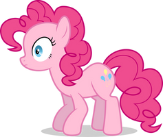 Mlp Fim Pinkie Pie (...) vector #6 by luckreza8