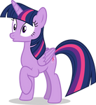 Mlp Fim Twilight Sparkle (wut) vector by luckreza8