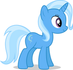 Mlp Fim Trixie (happy) vector #2