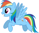 Mlp Fim Rainbow Dash (...) vector #5