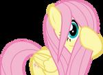 Mlp Fim Fluttershy (hmm... i shy) vector