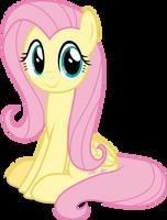 Mlp Fim Fluttershy (happy) vector #5 by luckreza8