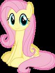 Mlp Fim Fluttershy (happy) vector #5