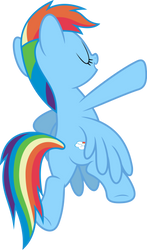 Mlp Fim Rainbow Dash (...) vector #6 by luckreza8