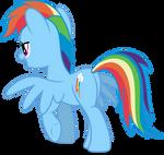 Mlp Fim Rainbow Dash (...) #2 vector