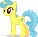 Mlp Fim Lemon Hearts (happy) vector