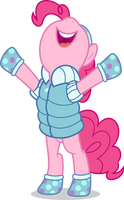 Mlp Fim Pinkie Pie (i win) vector by luckreza8