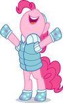 Mlp Fim Pinkie Pie (i win) vector
