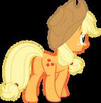 Mlp Fim Applejack (...) vector #7 by luckreza8