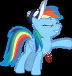Mlp Fim Rainbow Dash (...) vector #9