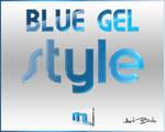 Blue Gel Photoshop Style