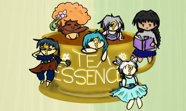 TE promotional poster: Teacup Essence by InkedSilver