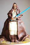 Star Wars Obe Wan Kenobe Cake