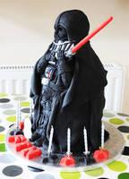 Star Wars Darth Vader Cake by KatesKakes