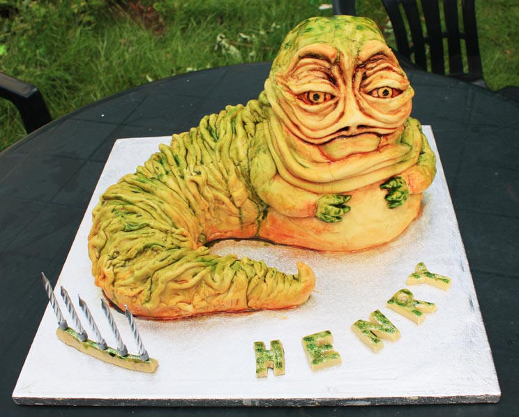Star Wars Jabba the Hutt Cake