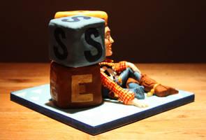 Toy Story 'Woody' Cake by KatesKakes
