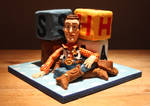 Toy Story 'Woody' Cake