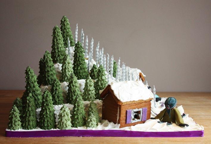Ski Slope Cake By Kateskakes On Deviantart