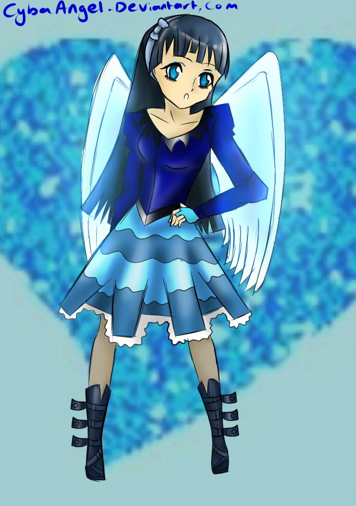 CybaAngel 6 - Sapphire Angel Dakota Ueno by CybaAngel