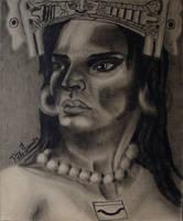 Xonaxi, Zapotec Mother Goddess - Diosa Zapoteca by tlacuilopilo