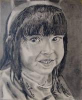 Portrait of Ximena - Retrato de Ximena by tlacuilopilo