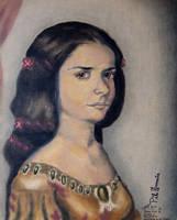 My Juana Ines de Asbaje y Ramirez de Santillana by tlacuilopilo