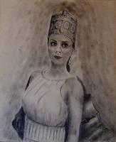 Sumerian Queen Kubaba by tlacuilopilo