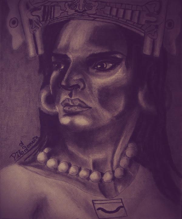 Xonaxi, Zapotec goddess by tlacuilopilo