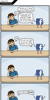 Social Notworking by Klecktacular