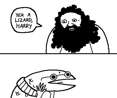 Harry Potter Mini-Comic by Klecktacular