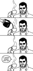 Jensen vs. Customer Service by Klecktacular