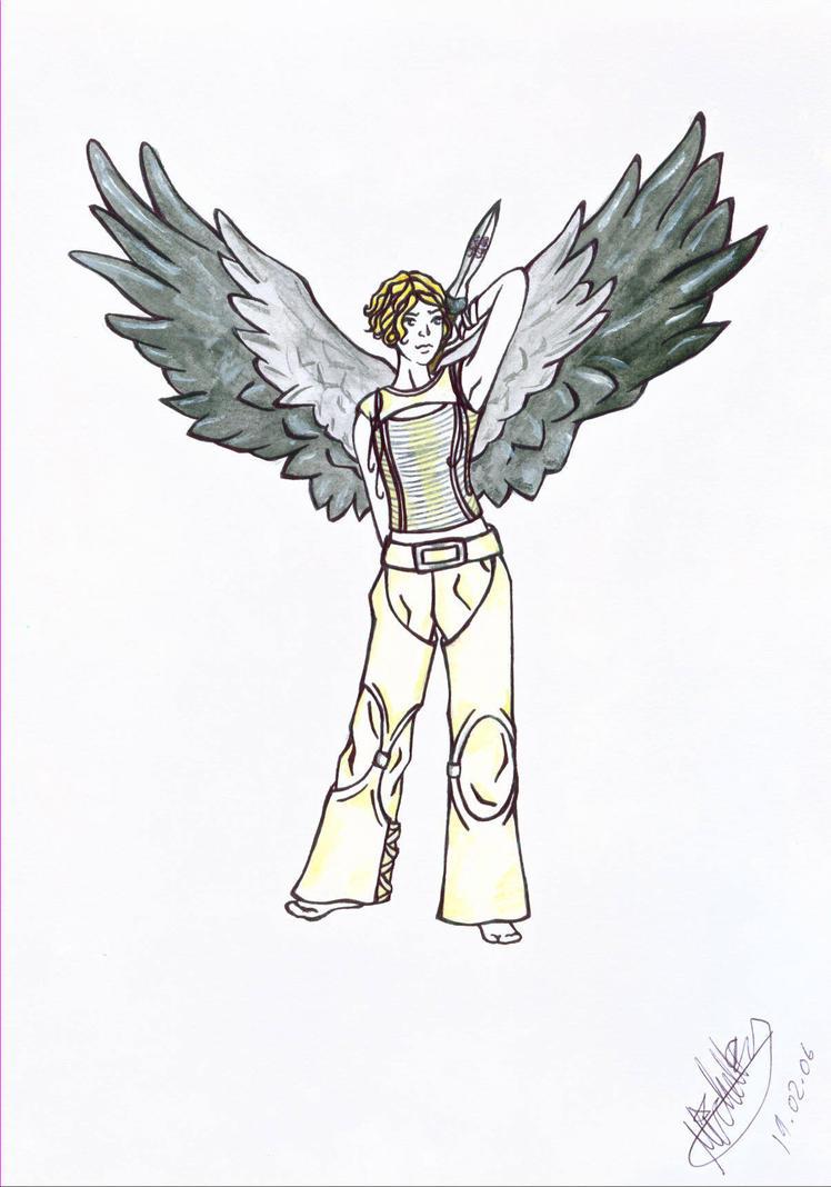 Angel Gabriel :A: by Constantine-Fan-Club on DeviantArt