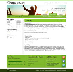Dom chvaly joomla template beta1