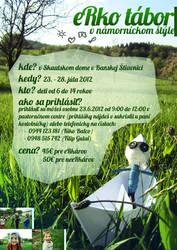 eRko summer camp 2012 poster